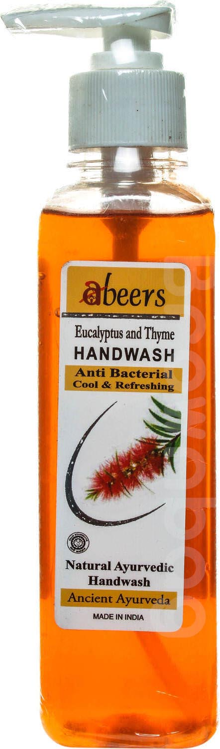 Khadi Abeers Eucalyptus And Thyme Anti Bacterial Handwash