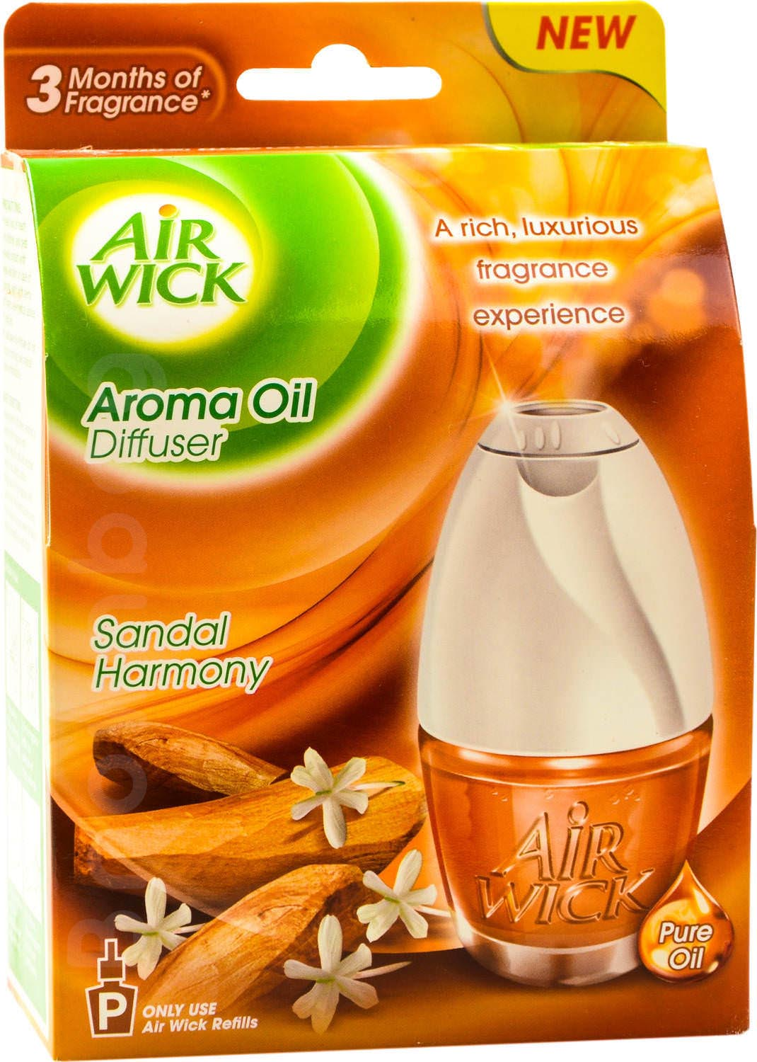AIR WICK Aroma Oil Diffuser with Sandal Harmony