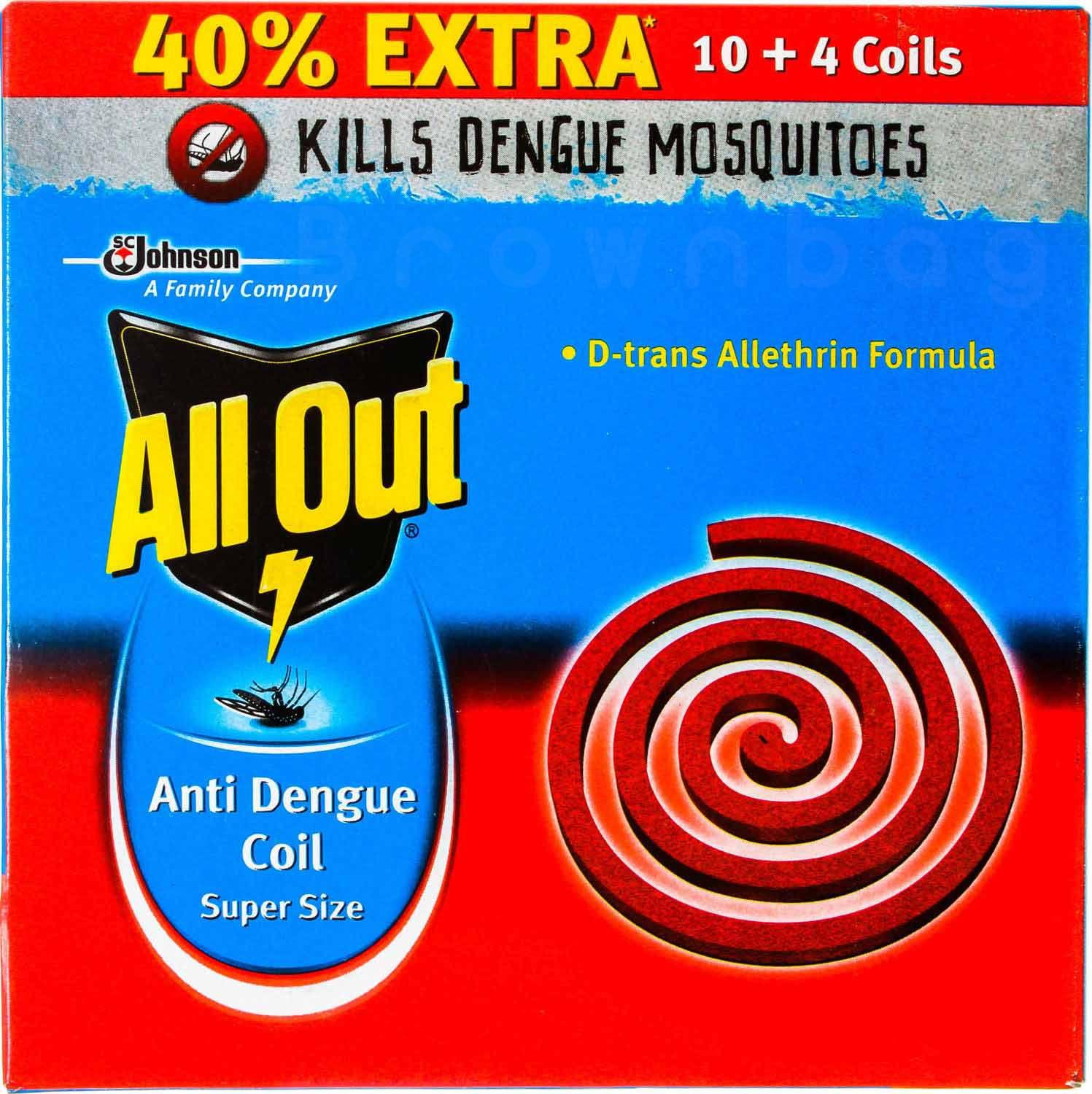 All out Anti Dengue Coil