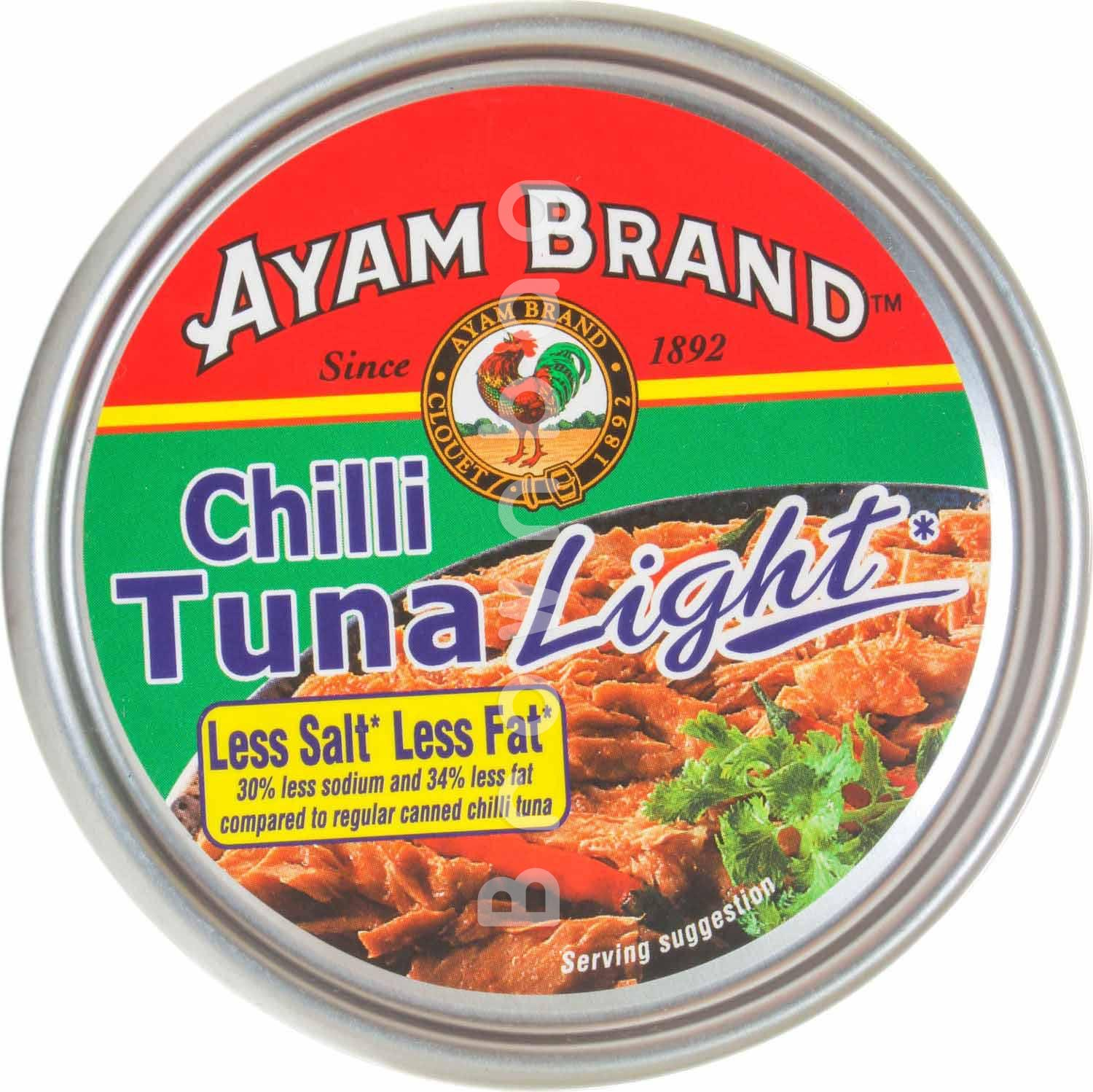 Ayam Brand Chilli Tuna Light