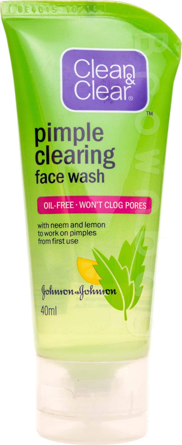 Clean & Clear Pimple Clearing Face Wash with Neem and Lemon