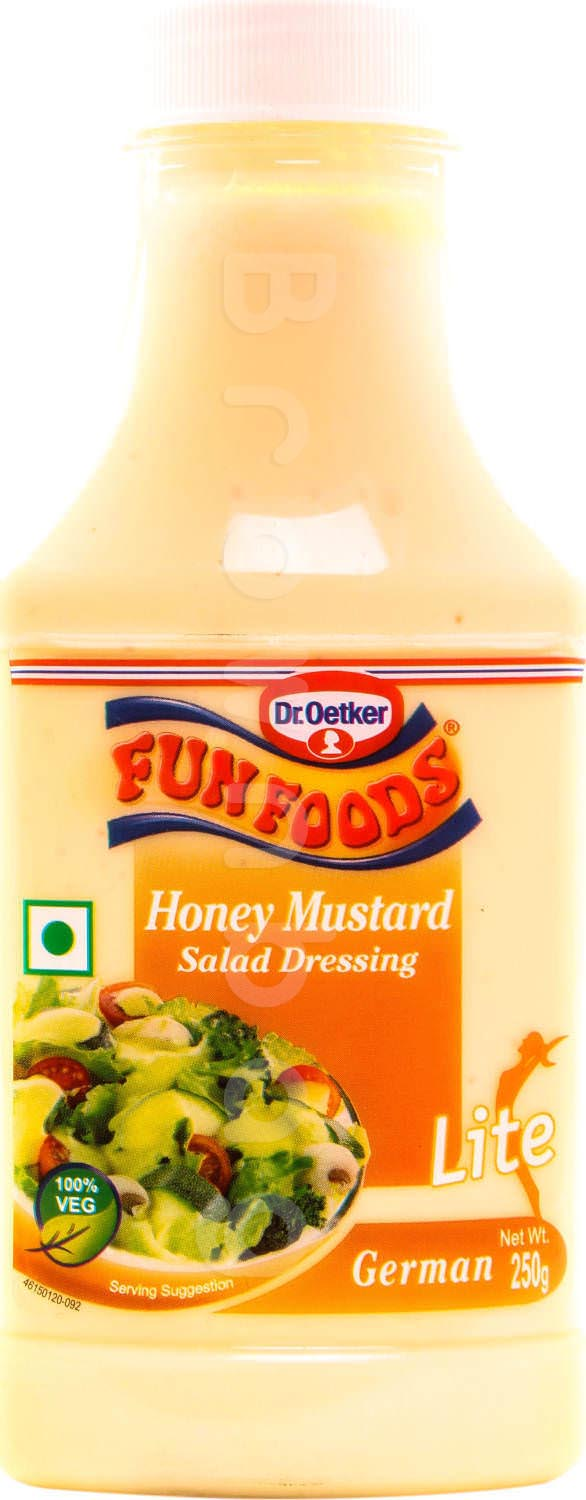 Dr. Oetker Funfoods Honey Mustard Salad Dressing