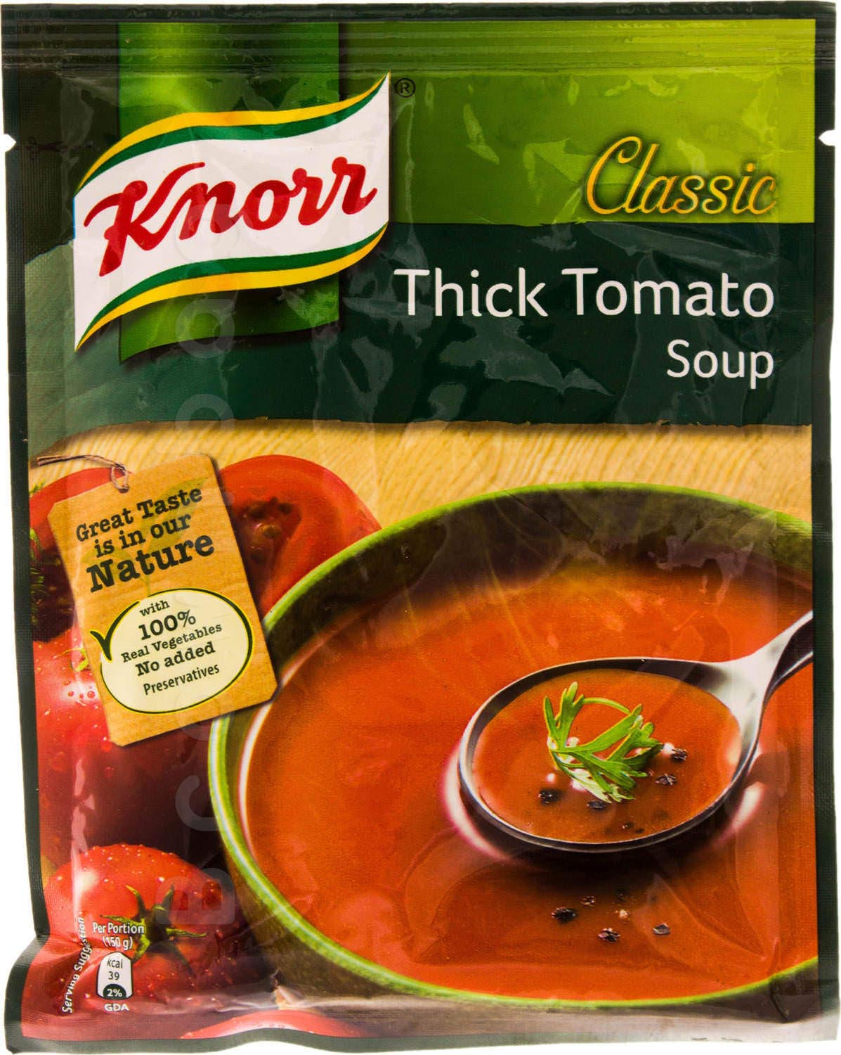 Knorr Classic Thick Tomato Soup with 100% Real Vegetables