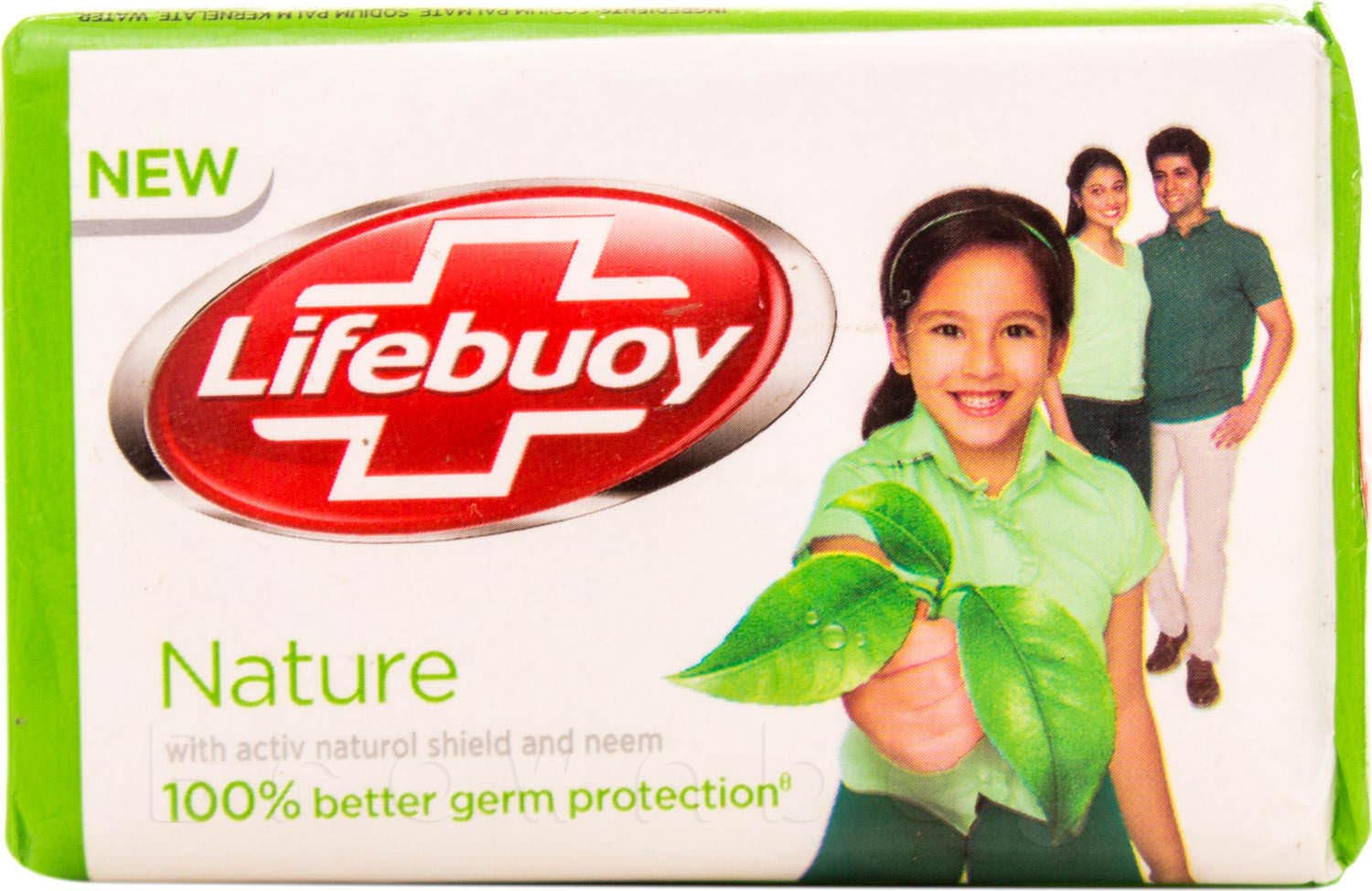 Lifebuoy Nature Soap with Activ Naturol Shield and Neem