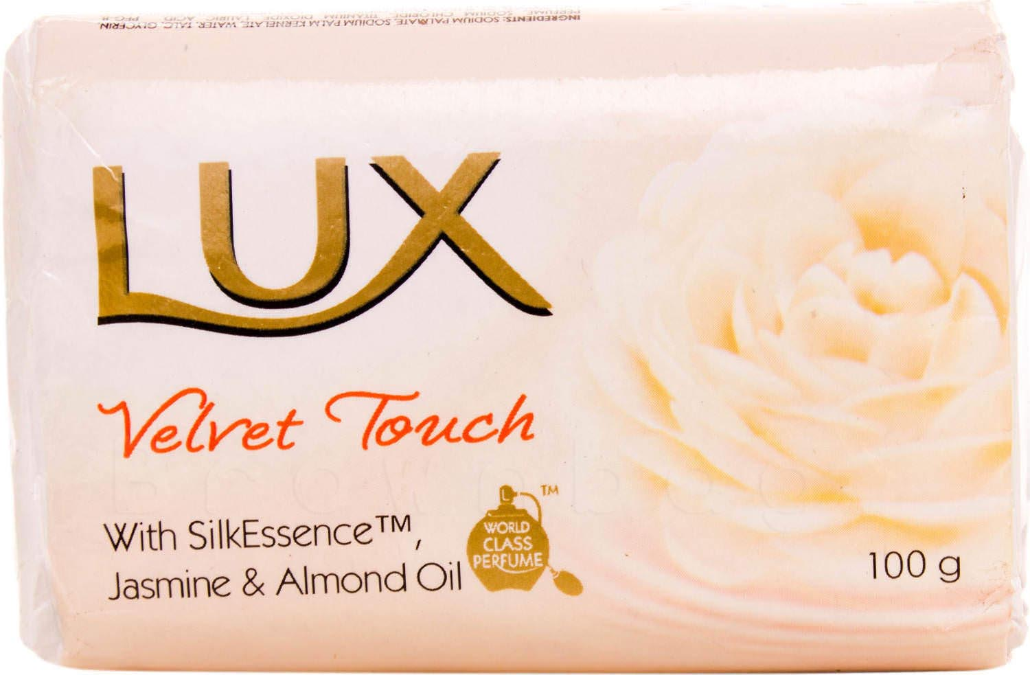 Lux Velvet Touch Body Soap with SilkEssence, Jasmine & Almond Oil