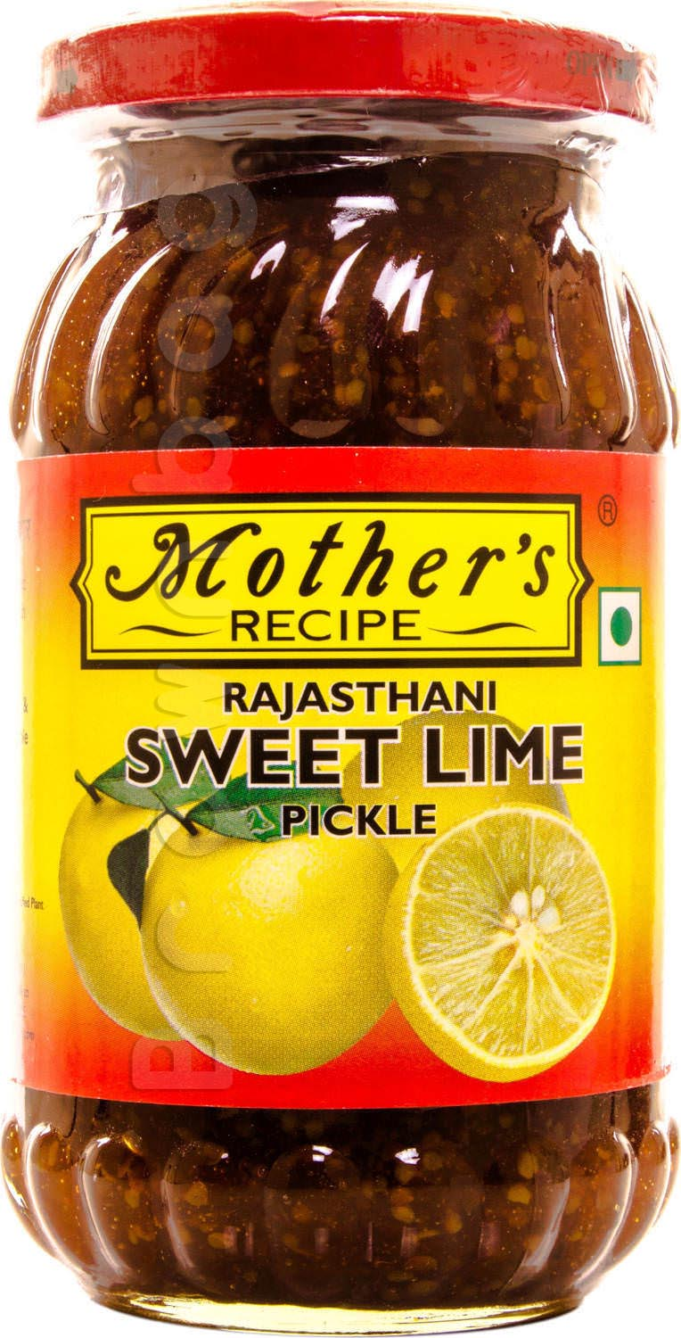 Mother's Recipe Rajasthani Sweet Lime Pickle
