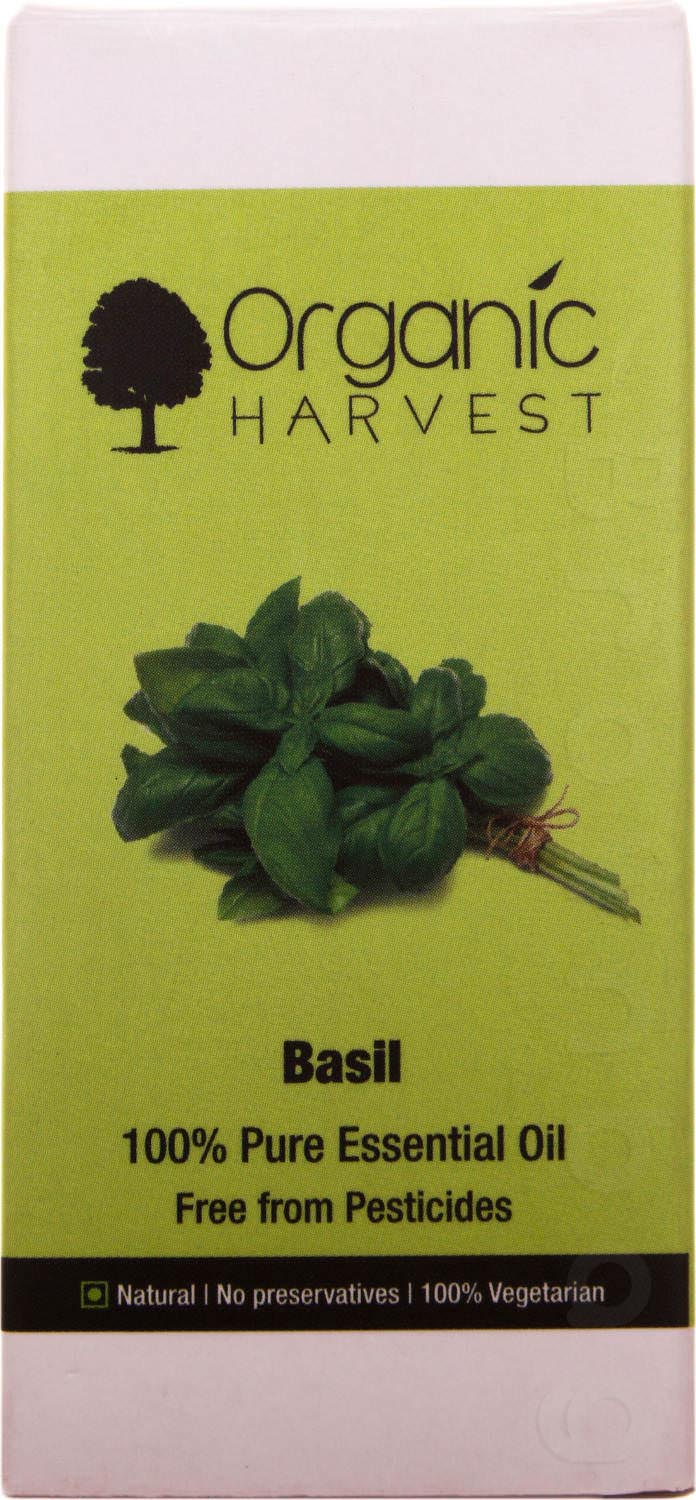 ORGANIC Harvest Basil Essential Oil