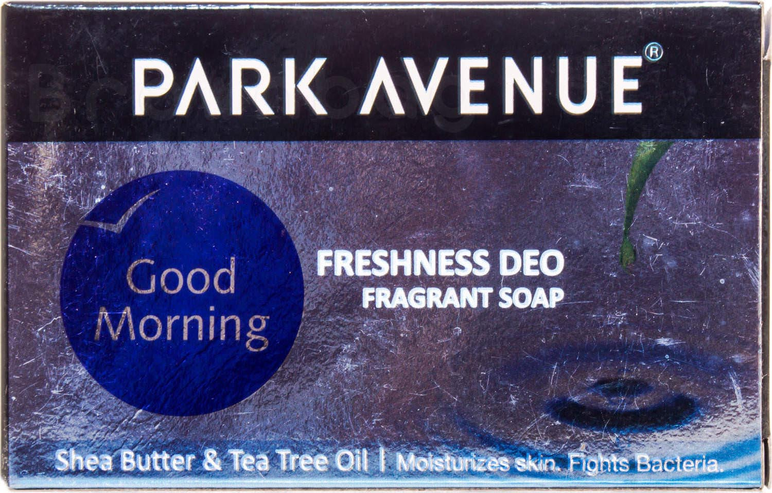 Park Avenue Good Morning Freshness Deo Fragrant Soap with Shea Butter & Tea Tree Oil