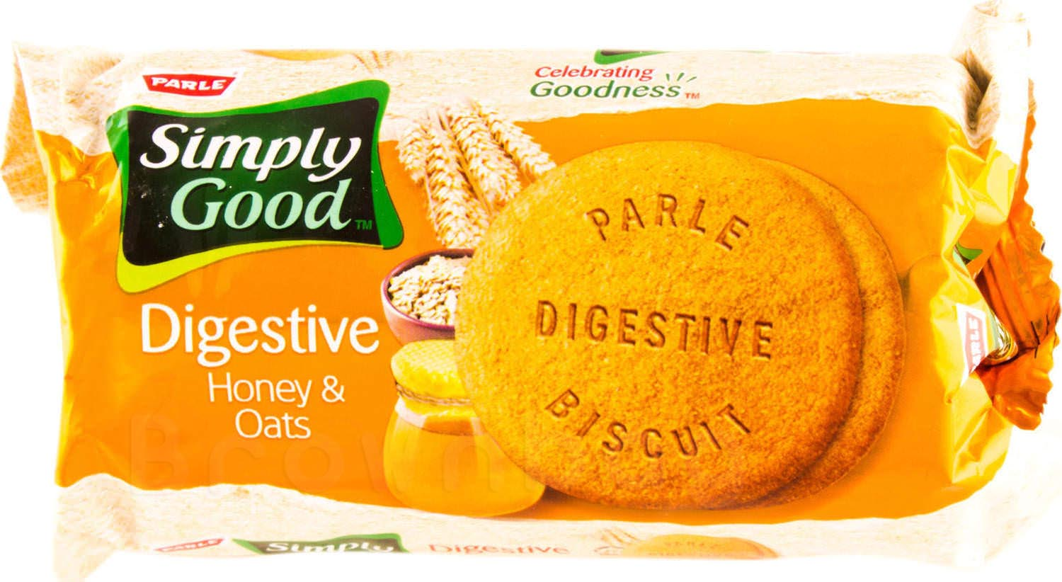 Parle SIMPLY GOOD Digestive Honey & Oats Biscuits