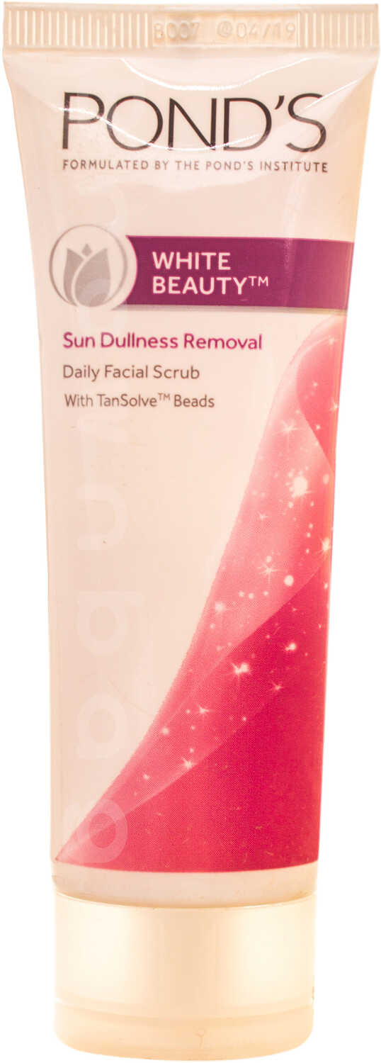 Ponds White Beauty Sun Dullness Removal Facial Scrub
