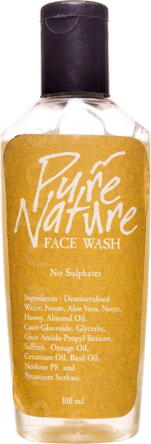 24 Mantra Organic Pure Nature Face Wash
