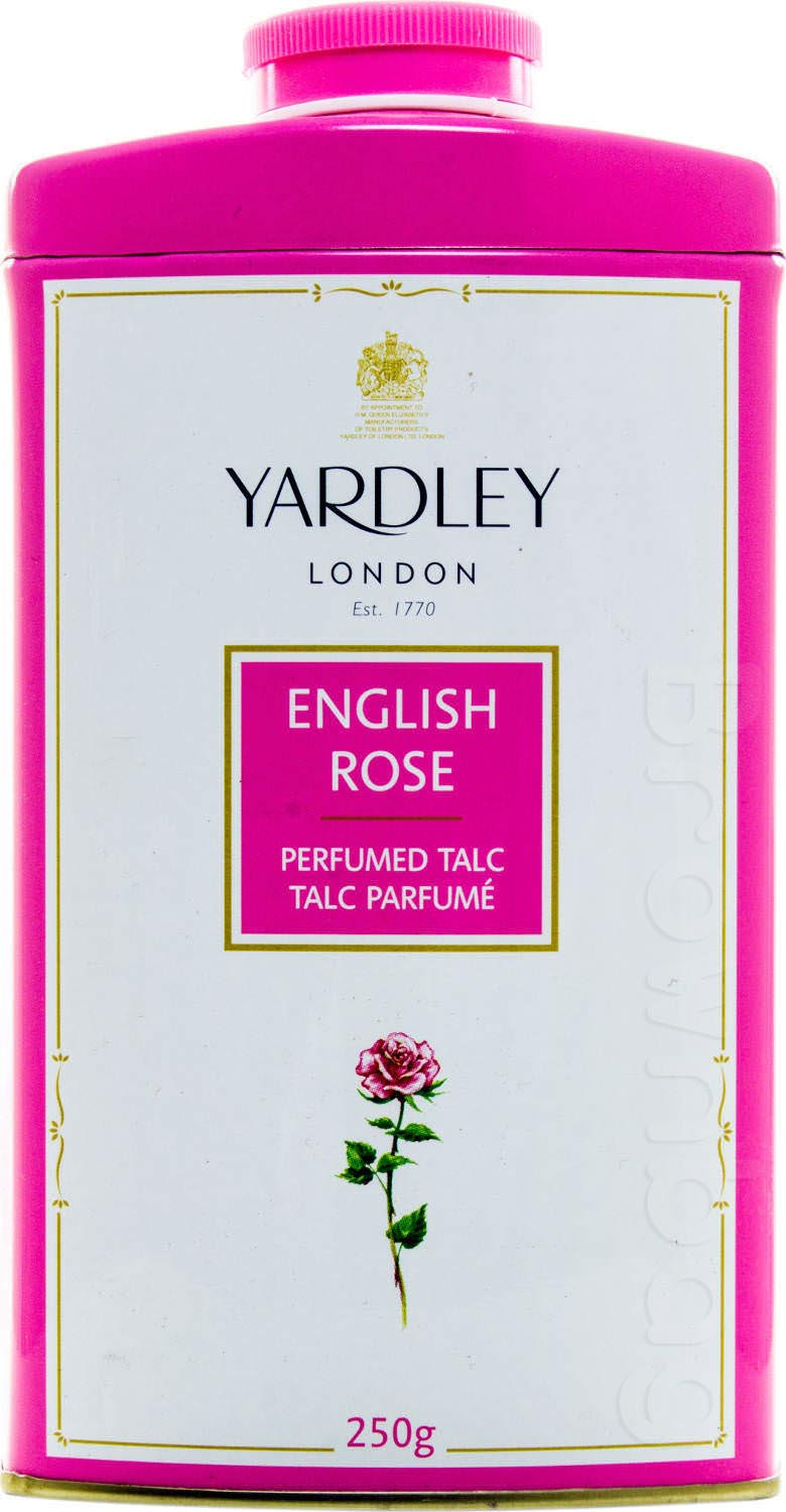 YARDLEY LONDON English Rose Perfumed Talcum Powder