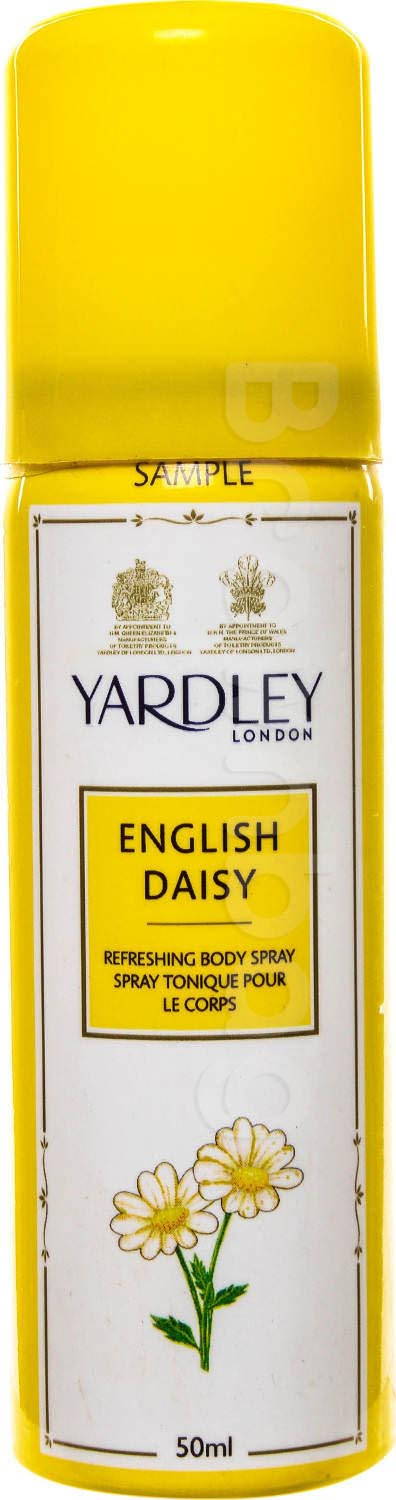 YARDLEY LONDON English Daisy Refreshing Body Spray