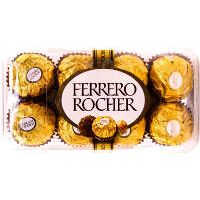 Ferrero Rocher Hazelnut & Milk Chocolate 16 Pieces