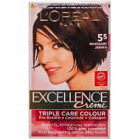 Loreal Cream Hair Colour 55 Mahogany Brown
