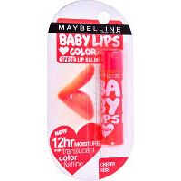 MAYBELLINE NY Cherry Kiss Lips Color & Balm