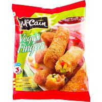 McCain Veggie Fingers with Corn Carrot &Peas