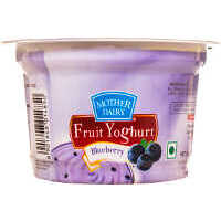 Mother Dairy Blueberry Fruit Yoghurt