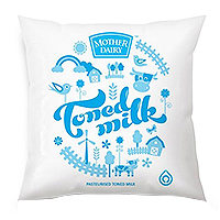 Mother Dairy Toned Milk