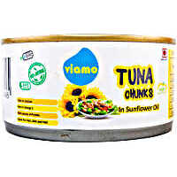 Viamo Tuna Chunks in Sunflower Oil