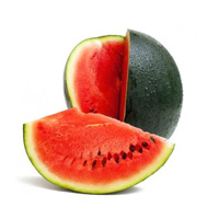 fresh fruit Watermelon  1800 gm to 2500 gm buy online at best price - Brownbag.in