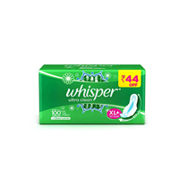 Whisper Ultra Clean XL+ Sanitary Pads with Odour Lock Gel