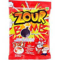 Zour Bomb 3in1 Cola Candy with Sherbet Fill